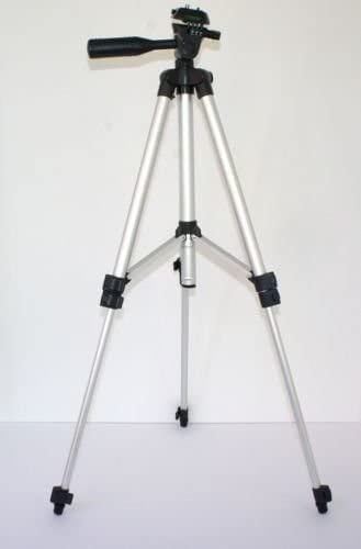 Durable 50 Pro Photo//Video Tripod with Case for Nikon COOLPIX W300