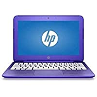 2016 HP Stream 11.6 HD LED Backlit Laptop PC, Intel Celeron Dual-Core Processor, 2GB RAM, 32GB SSD, Webcam, WIFI, Windows 10, 1 Year Microsoft Office 365 Personal, Purple