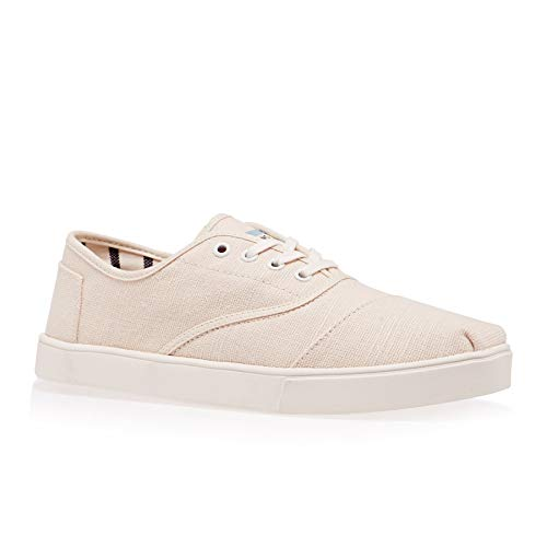 TOMS Men's Cordones Lace-Up Sneakers (9 M US, Natural Heritage Canvas Cupsole)