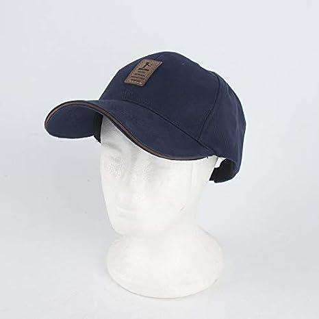 L-1-001 Hombres Gorra de b/éisbol Deportes al Aire Libre Sombrilla Sombrero de los Hombres Sencillo Salvaje Ajustable Sombrero Oto/ño Casquillo Ocasional