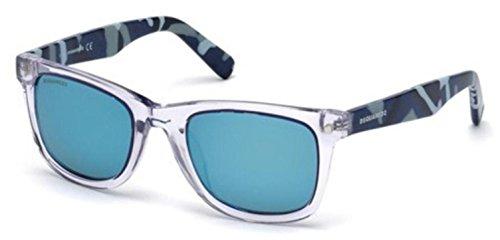 Sunglasses DSquared2 DQ 171 DQ0171 26X crystal / blu - Dq Sunglasses
