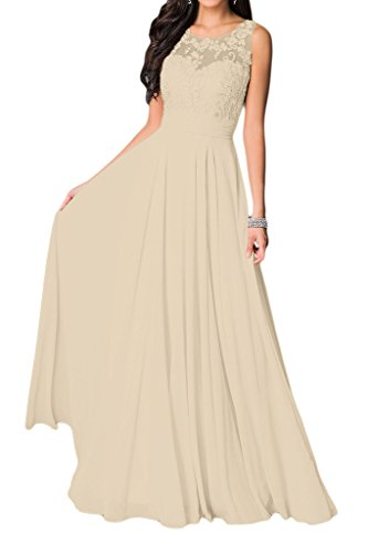 Missdressy -  Vestito  - linea ad a - Donna champagne 44