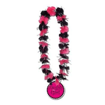 (Party Lei w/Naughty Girl Medallion Party Accessory (1 count))