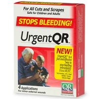 Urgent QR Kit Stops Bleeding! Size: 2 APPLIC [Health and Beauty] by BIOLIFE LLC.
