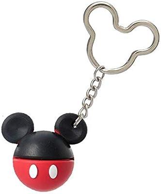 Amazon.com: Disney Mickey Mouse - Llavero de bola de iconos ...