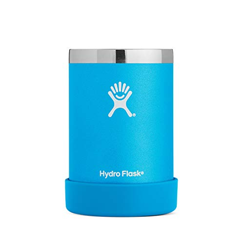 Hydro Flask 12 oz Cooler Cup | Stainless Steel & Vacuum Insulated | Removable Rubber Boot | Pacific