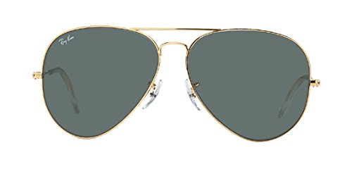 RAY BAN AVIATOR RB3026 Sunglasses - Gold L2846 Large - G-15-xlt Lens