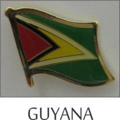 Guyana Single Lapel Pin