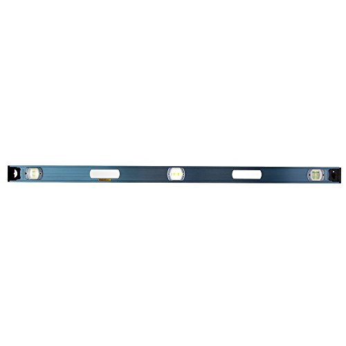 Swanson Tool IBL48M 48-Inch Magnetic Aluminum I-Beam Level (Blue)