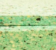 Planchas de aglomerado para insonorización y aislamiento acústico. Grosor: 5 cm