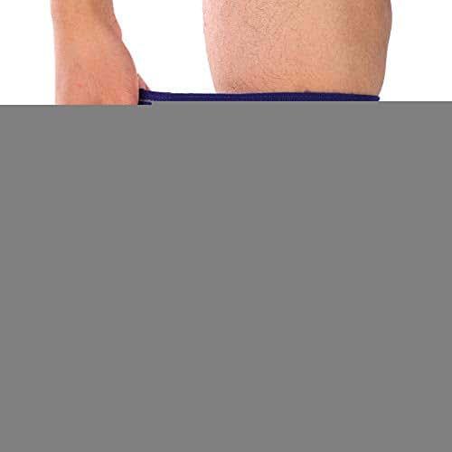 Pangding Sports Bondage Wrap,Adjustable Knee Support Strap (Blue)