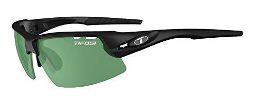 Tifosi Crit Enliven Color Enhancing Golf Sunglasses Black/Green