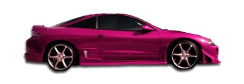 Duraflex ED-ZHU-790 Blits Side Skirts Rocker Panels - 2 Piece Body Kit - Compatible For Mitsubishi Eclipse 1995-1999