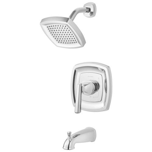 American Standard T018502.295 Edgemere Bath/Shower Trim Kit 2.5 Gpm, Brushed Nickel