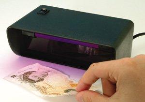 Helix Detector de billetes falsos de escritorio