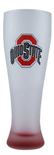 - Ohio State Buckeyes 23 oz. Frosted Grand Pilsner Glass with Bottom Spray