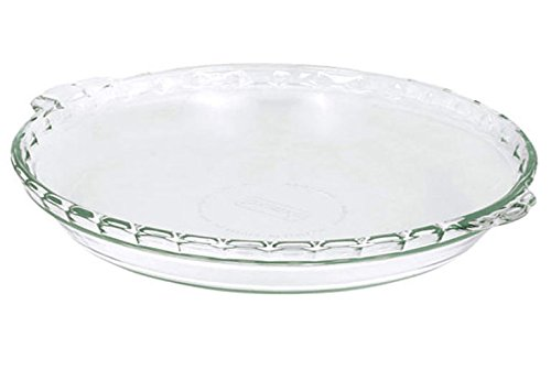 Pyrex Basics Round Glass Bakeware 9.5 in. x 1.6 in. (Set of 2)