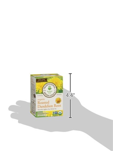 032917001658 - Traditional Medicinals Organic Roasted Dandelion Root Tea, 16 Tea Bags (Pack of 6) carousel main 7