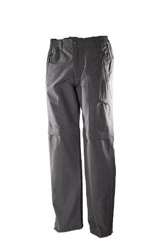 Hot-sportswear Berlin anthracite Herren T-Zip- Hose Langgröße