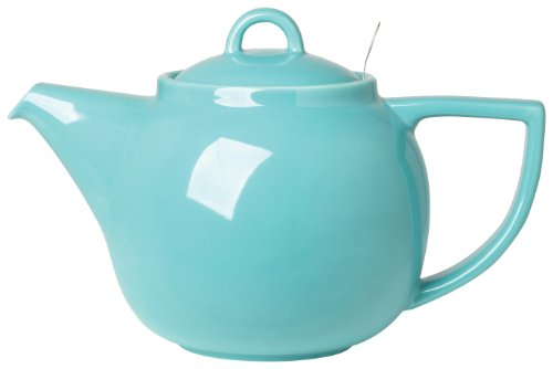 London Pottery Geo Teapot with Stainless Steel Infuser, 4 Cu