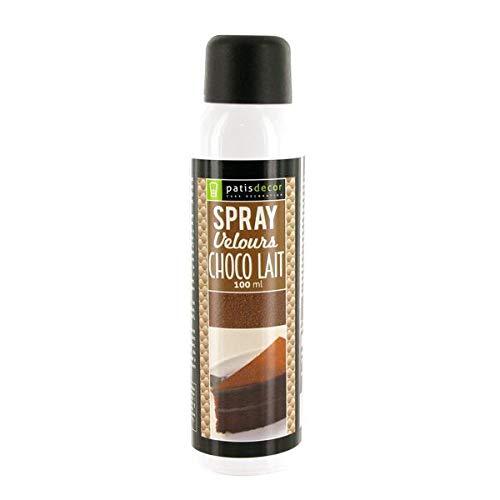 Spray efecto terciopelo Chocolate con leche, 100 ml: Amazon ...