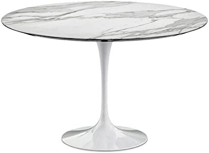 Kulldesign Com Table Ronde Marbre Tulip Style Inspiree De