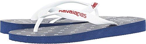 Havaianas Mens Top Optische Sandaal Flip Flop Marine Blauw