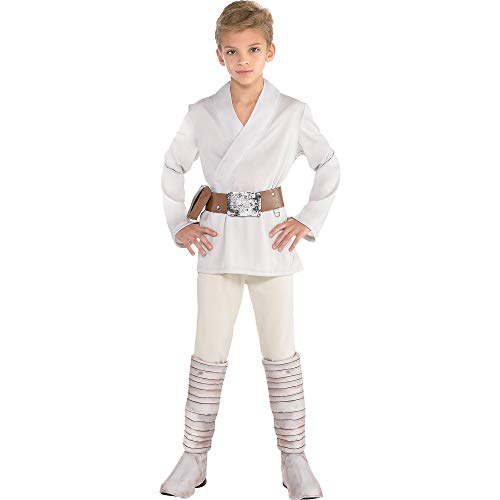 Suit Yourself Luke Skywalker Halloween Costume for Boys, Star Wars, Small, Includes Accessories