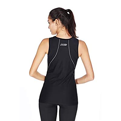 bpbtti Women's Athletic Base Layers Sleeveless Cycling Mesh Undershirt Quick Dry Bike Biking Shirts at Women's Clothing store