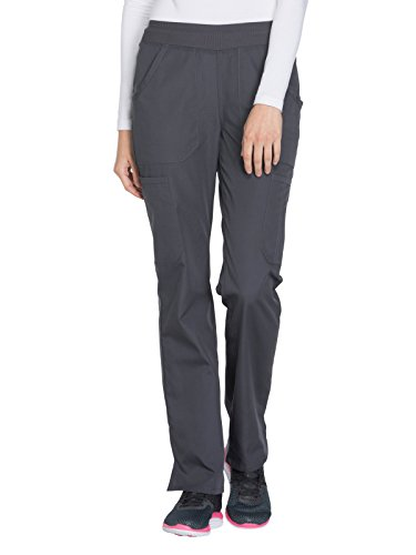 Cherokee A/c (Cherokee Workwear WW210 Mid Rise Pull-On Cargo Pant Pewter X-Large Petite)