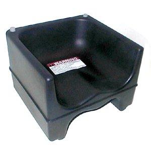 Cambro Black Dual Seat Booster Seat w/o Strap by Cambro