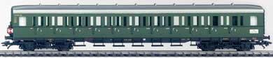 2002 (December) Compartment Car 3rd cl DB - Discontinued -  Marklin, 43119
