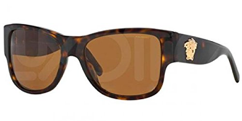 Versace Mens Sunglasses Tortoise/Brown Acetate - Polarized - - Shades Versace