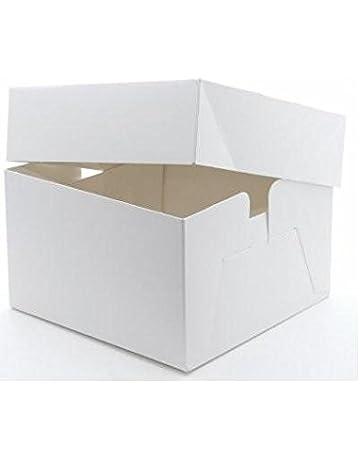 Caja sencilla para tarta, 25,4 x 25,4 x 15,24