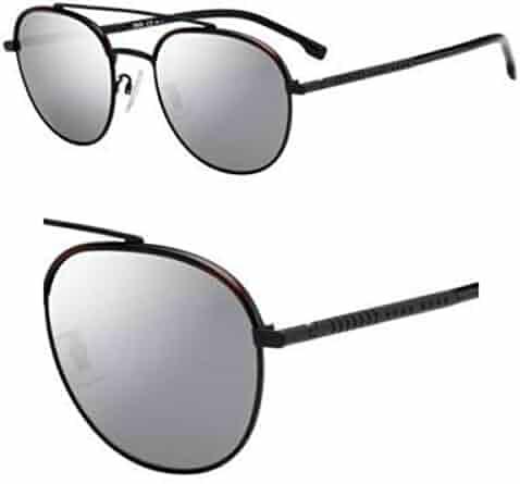 162e5cf78619 Sunglasses Boss Black 1069  F S 0003 Matte   T4 silver mirror lens