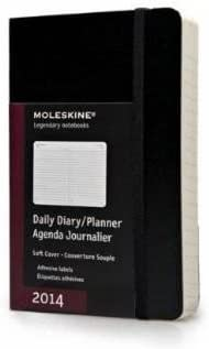 Moleskine 2014 Planner 12 Month Daily Black Pocket