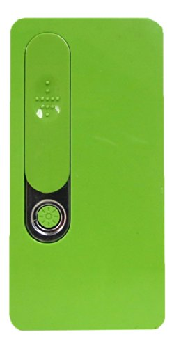 Danny's World® USB Rechargeable Electric Windproof Flameless Cigarette Lighter & Flashlight (Green)