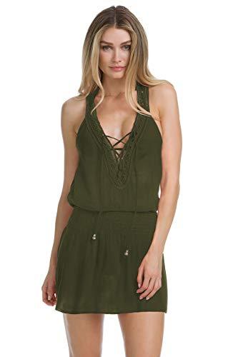 7c4d8dd27bcd3 Becca by Rebecca Virtue Women's Globe Trotter Dress Cover-Up ...