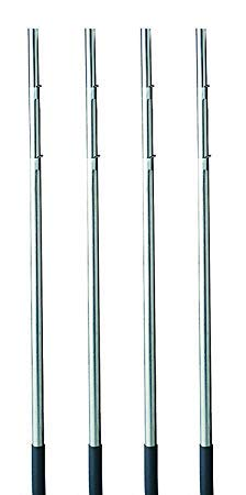 Heath Outdoor Products MP-15-4 15-Foot Telescoping Purple Martin House Pole (4-(Pack))