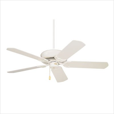 Emerson CF755AW Designer 5 Blade Ceiling Fan in Summer White