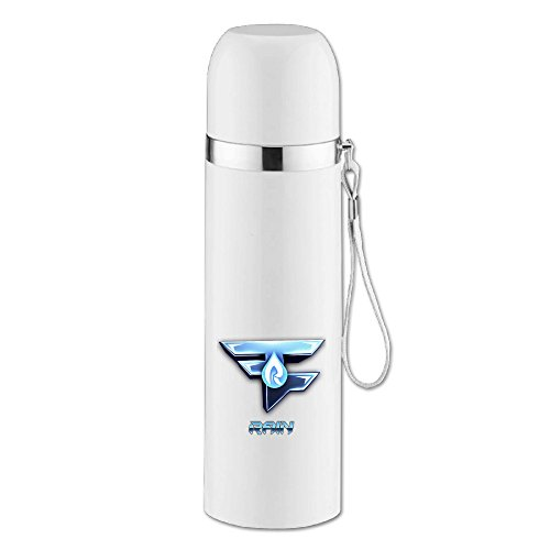 Caryonom Faze Rain Logo Insulated Water Bottle Travel Mug Vacuum Cup For Office Home Outdoor Adult Kids - Gamma Travel Mug