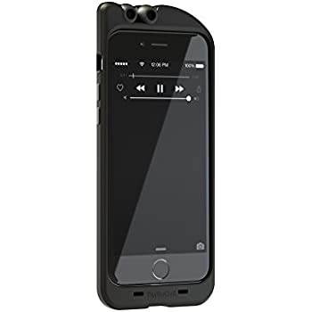 purchase cheap 5fdd2 a2603 TurtleCell Retractable Headphone Case for iPhone 6 - Retail Packaging -  Black