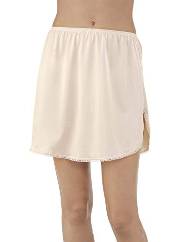 Vanity Fair Women's 360° Half Slip 11760, Damask Neutral, Large, 16 (Vanity Fair Dresses)