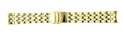 - Joe Rodeo Watch Band For 2000 yellow Metal Band 22MM