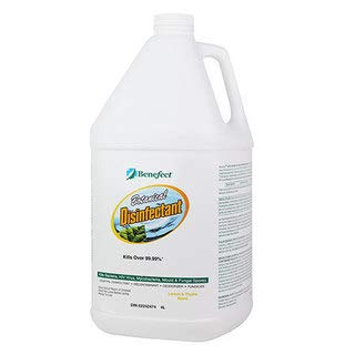 Benefect Botanical Disinfectant And Fungicide   Professional Grade Cleaning With No Hazardous Chemicals For Household Or Commercial Use   4 Litres by Amazon