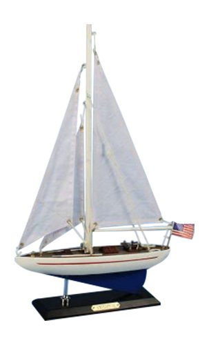 "Hampton Nautical  Enterprise Sailboat, 16"" from Hampton Nautical"