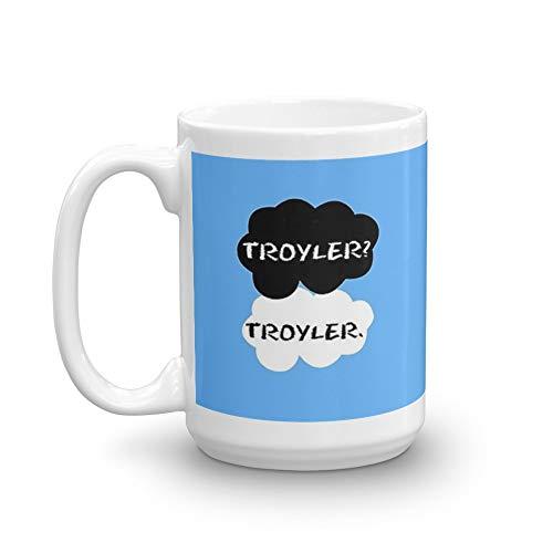 Troyler - TFIOS 15 Oz White Ceramic