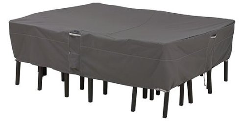Ravenna Patio Table And Chair Set Cover, LARGE, DARK TAUPE by Home Decorators Collection