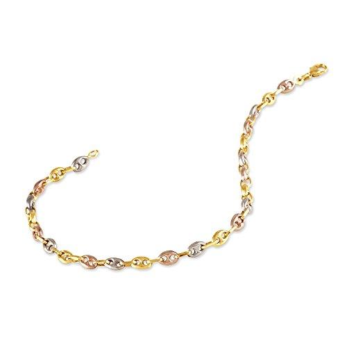 HISTOIRE D'OR - Bracelet Or - Femme - Or 3 couleurs 375/1000