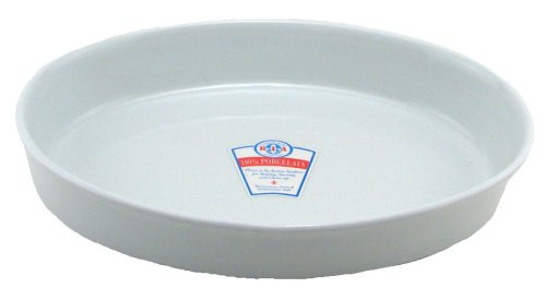 BIA Cordon Bleu 2-Quart Oval Baker, White